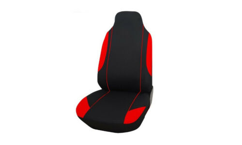 For Vauxhall Vivaro Sportive 01-14 2+1 Red Light Fabric Seat Covers