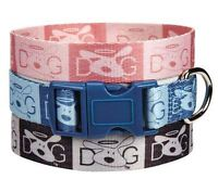 dog Is Good Halo Dog Collar Nylon Collars Pet Pink Blue Black