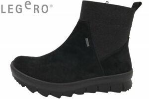 Leder Schuhe Damen Boots Zu Tex Stiefel Details Schwarz 00 00504 Legero Gore L43ARq5j