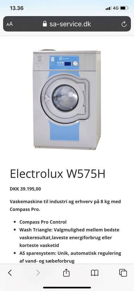 Electrolux vaskemaskine, vaske/tørremaskine