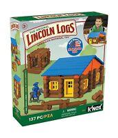 Lincoln Logs Oak Creek Lodge 137 Pieces Ages 3+ Preschool Ed... Free Shipping