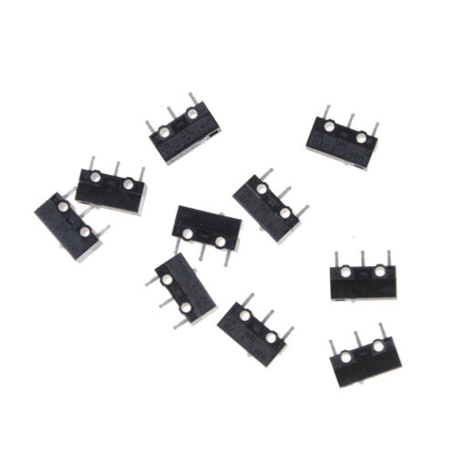 10X Authentic OMRON Mouse Micro Switch D2FC-F-7N Mouse Button Fretting H/&P