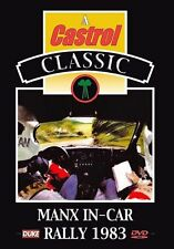 Manx In - Car Rally 1983 (New DVD) Ari Vatanen Isle of Man Rally