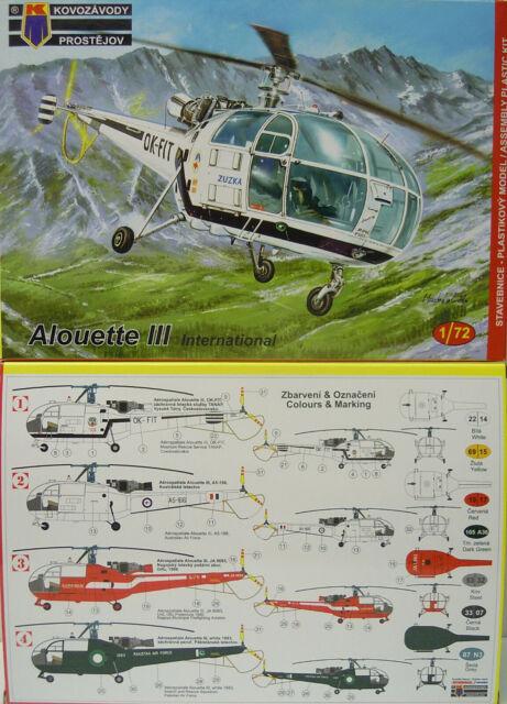 Alouette III International, Kp , 1:72 ,Plástico, Novedad