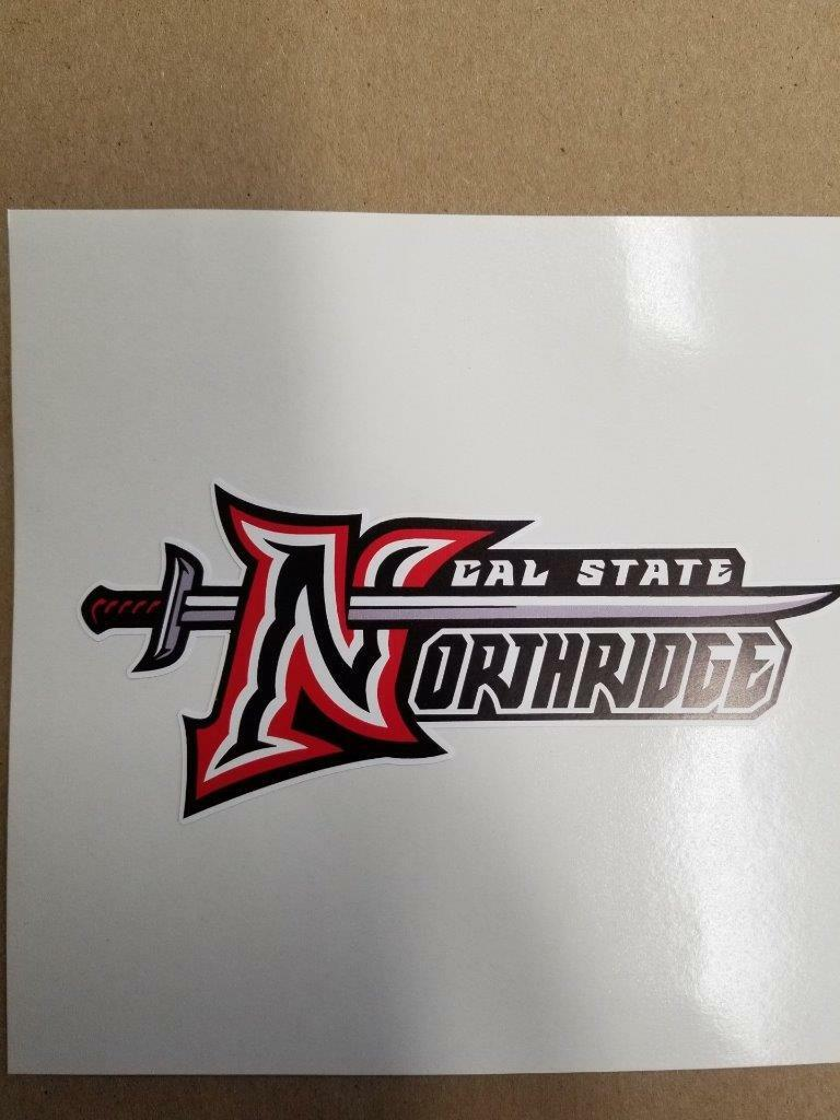 Cal State Northridge Matadors Cornhole board or vehicle window  decal(s)CS2  best offer