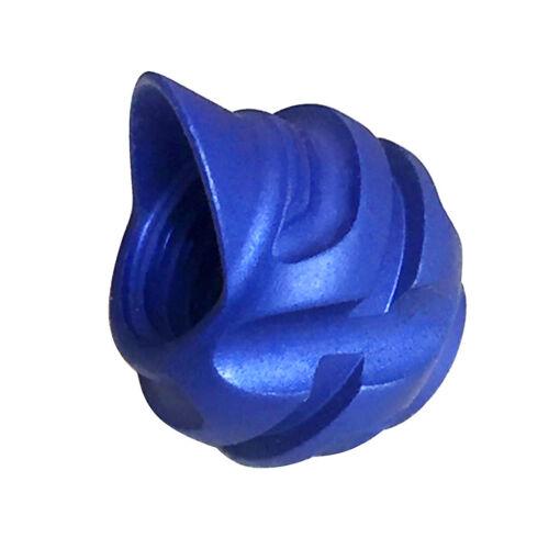 "Blau Professional Aluminium Peep Sight 1//4 /""für Compoundbogen Rot"