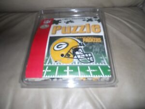 GREEN-BAY-PACKERS-TEAM-PUZZLE-150-PIECES-NFL-Football-Helmet-Sports-Sporting
