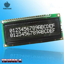 LCD1602A 16x2 3.3V 1602 White Character LCD Stable Black Background