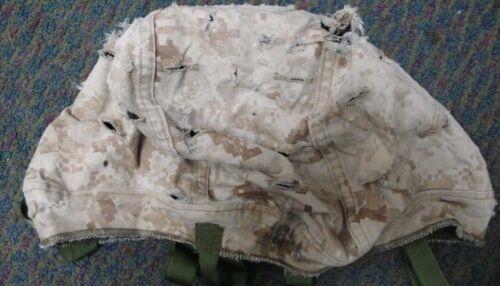 USMC REVERSIBLE HELMET COVER MARPAT WOODLAND DESERT XSMALL SMALL MEDIUM LARGE