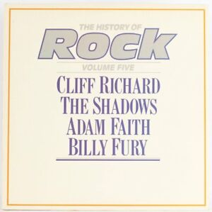 Various-The-History-Of-Rock-Volume-Five-Vinyl-Record-USED