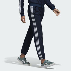 de128b5b7fee8 Adidas Originals Cuffed Track Pants Sizes XS S M L Wool Winter Navy ...