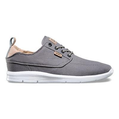 5295e485ef ... Shoes Gray Sneaker. Vans Brigata Lite C L Grost Grey Men s 7 Women s  8.5 Skate Running ...
