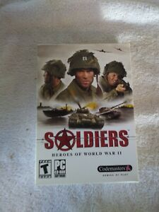 Soldiers-Heroes-Of-World-War-II-PC-Game-Box-CD-2004-by-Codemasters-New-M1