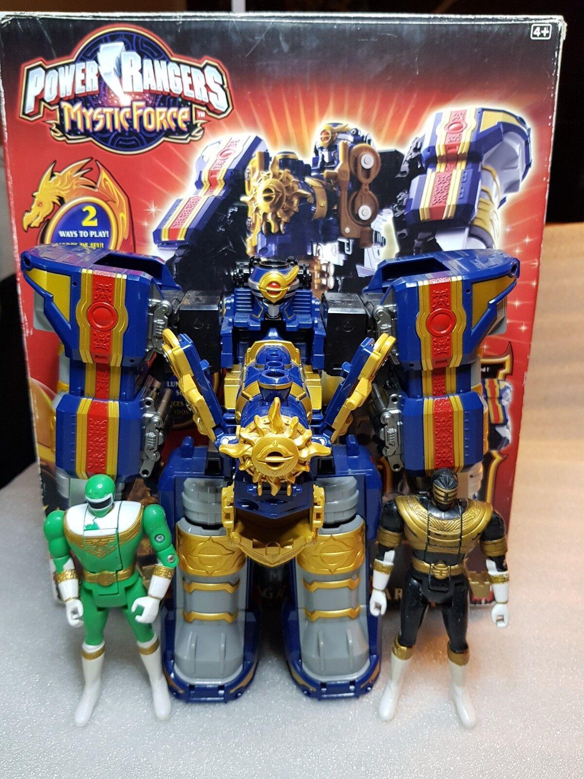Power Ranger Mystic Force Solar Streak Megazord Sonore