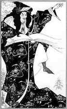 Aubrey Beardsley Virgilius The Sorcerer A4 Print