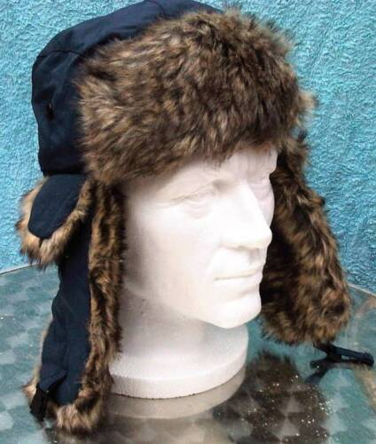 THICK TRAPPER RUSSIAN FUR LINED SHOWER PROOF HATS