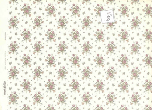 Wallpaper   Rio Dante 154D2   dollhouse miniature  1pc