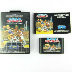 SEGA-Mega-Drive-Gioco-Arch-RIVALS-The-Arcade-Game