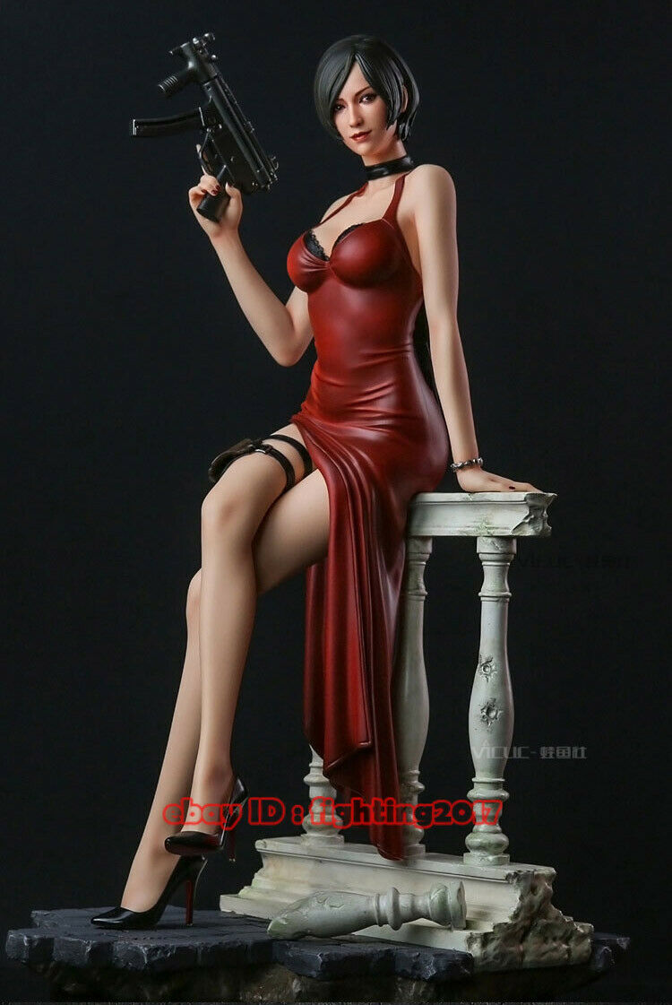 marca Resident Evil Señorita Wong Ada 1 4 Estatua Estatuilla Estatuilla Estatuilla De Resina limitada de 19   los clientes primero