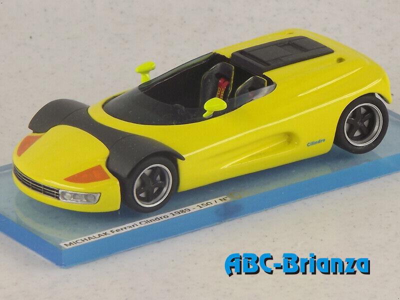 ALEMAC070  MICHALAK FERRARI CILINDRO 1989 jaune  grosses soldes