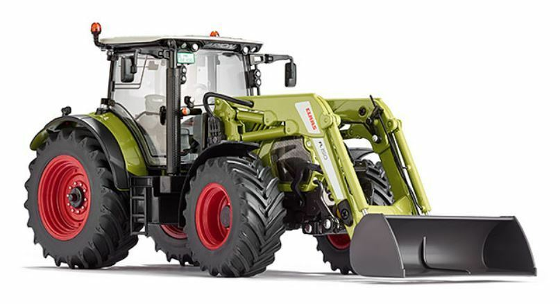 Claas Arion 650 Tractor with Frontal Loader 1 32 Model WIKING