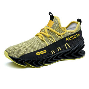 Mens-Springblade-Sneakers-Flyknit-Sport-Running-Shoes-Casual-Breathable-Athletic