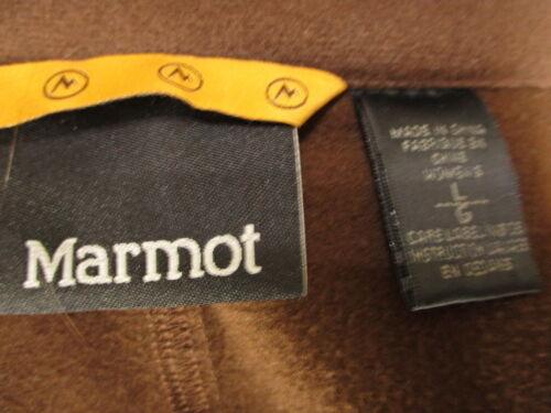 Womens Marmot Womens Brown Marmot L L Marmot Kapuzenjacke Womens Brown Kapuzenjacke wqO001
