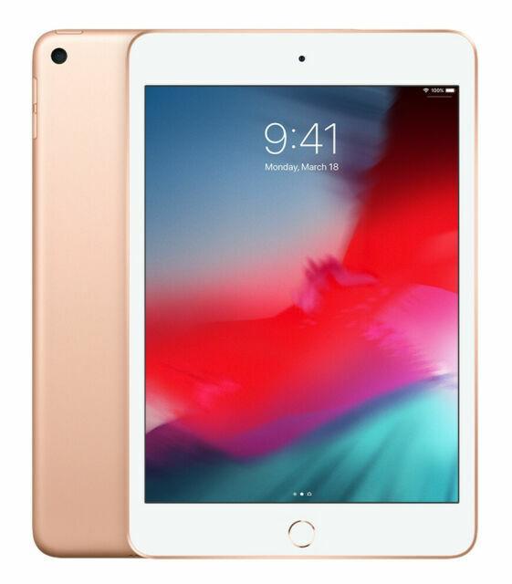 Apple iPad Mini  64GB, Wi-Fi, 7.9in Gold MUQY2LL/A New Open