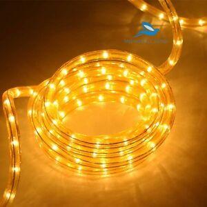 20 Feet- Yellow Rope Light Waterproof Led Neon Light for festival