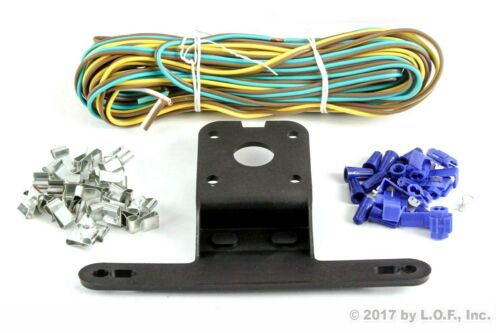 "Boat Marine /& 8 Amber Side Marker LED Submersible Square Light Kit Trailer 80/"""