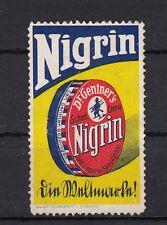 401239/ Reklamemarke - Nigrin Schuhputz - Carl Gentner - Göppingen
