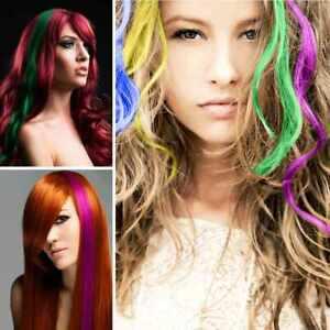 Haare mit strähnen blonde bunten ▷ 1001+
