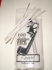PIPE CLEANERS X 100 BAG TAPERED/CONICAL 'ASHTON' PIPECLEANERS 'MADE IN ENGLAND'