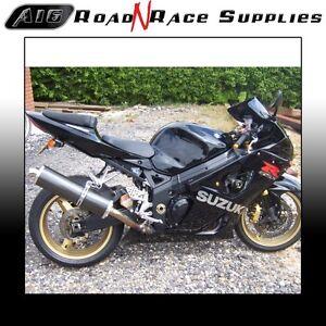 Details about Suzuki GSXR 600 750 1000 K1-K4 2000-2004 A16 Road Legal  Carbon Exhaust & Baffle