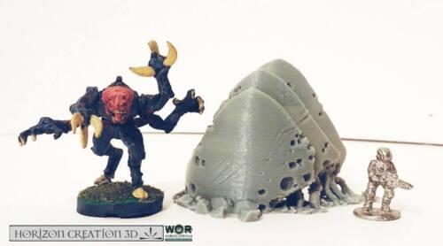 HC3D-Wor Thorn premier Mini-Alien Wargames Miniatures Paysage 40k 28 mm 15 mm