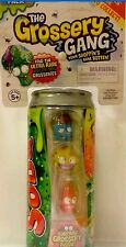 ~The Grossery Gang Sticky Soda Can ~ 4 Pack From The Makers Of Shopkins ~