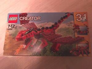 Lego Creartor 31032 3 En 1 Les Creatures Rouges Neuf Boite Scellee