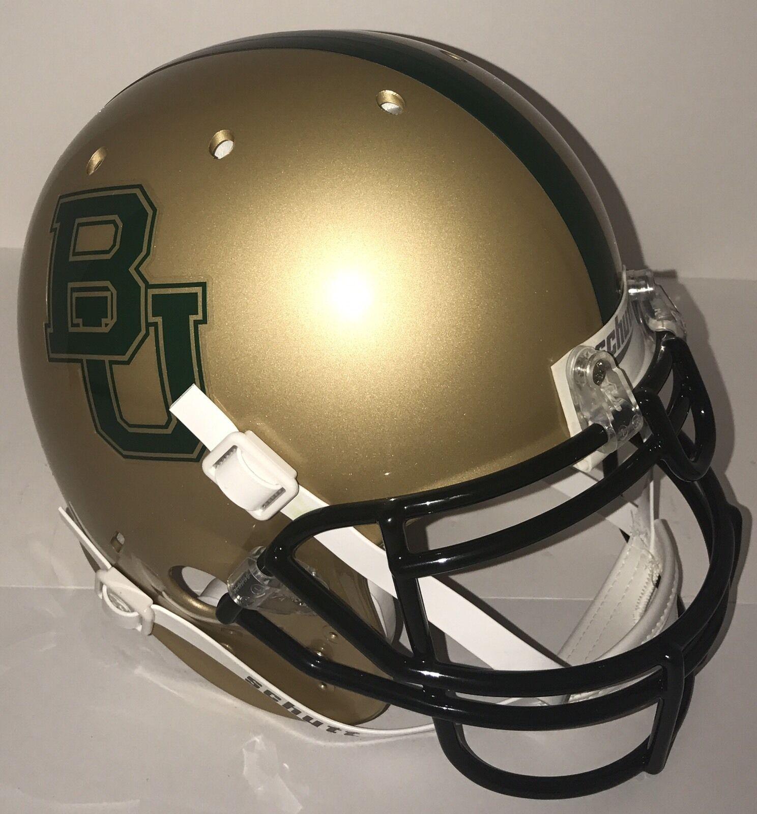 NCAA  Baylor Bears Schutt AUTHENTIC Full size Football Helmet