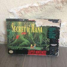 Secret Of Mana Super NES Nintendo SNES US en Boite SNSP-K2-USA NTSC Tested