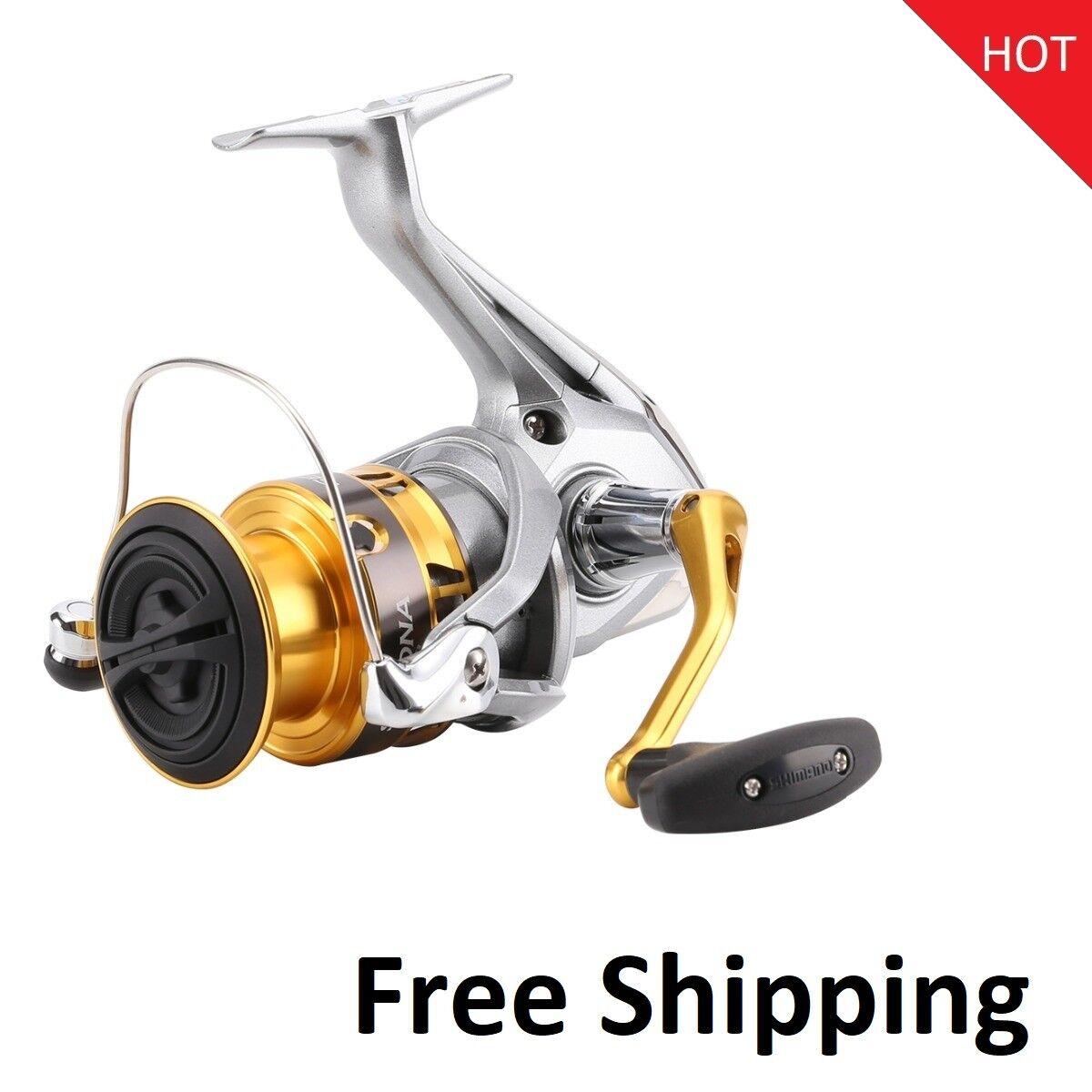 Shimano Sedona Fi 1000 2500 4000 Cocherete de Pesca Spinning Hagane Engranaje de bajo perfil