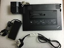 NEW x 1 LENOVO THINKPAD MINI DOCK PLUS SERIES 3 + 90W AC ADAPTER 45N6696 75Y5728