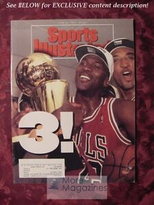 8d9bb8f22ef3a0 Image is loading SPORTS-Illustrated-June-28-1993-MICHAEL-JORDAN-JOHNSON-