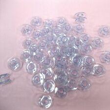 50 Singer Class 15J Transparent Plastic Sewing Machine Bobbins #085128 #85128