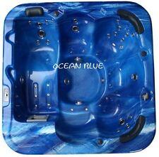 Whirlpool Jacuzzi Wellnes Outdoor in der Farbe Ocean Blue für 6 Personen