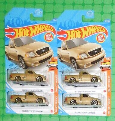 Hot Wheels 2020 #237 /'99 Ford F-150 SVT Lightning