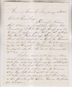 1866-LETTER-SENT-TO-CLARK-BROWN-OF-QUEENSBURRY-NY-RE-LENDING-MONEY-AT-10