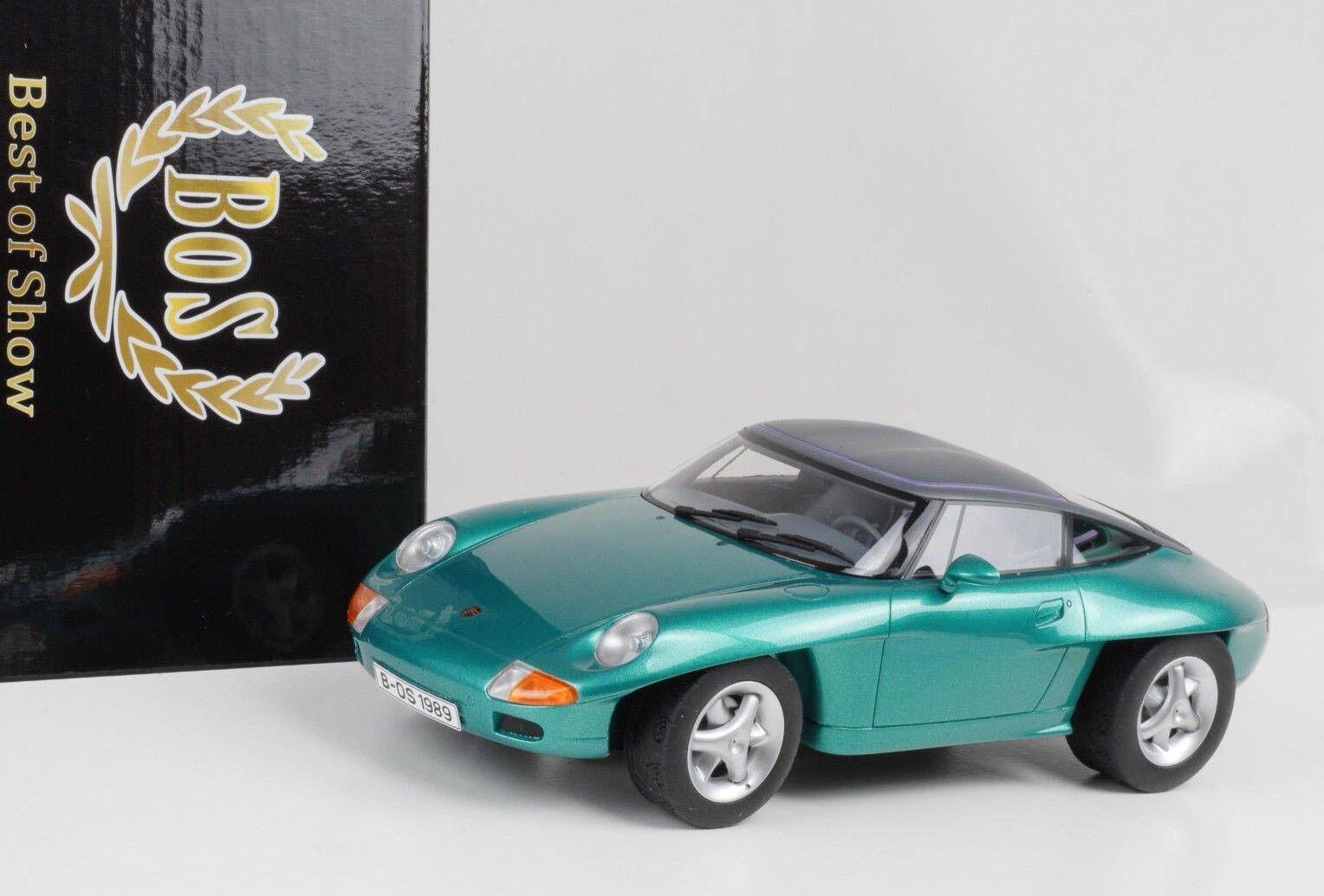 1989 Porsche 911 Pan Americana Concept Coche Iaa Frankfurt 1 18 Bos Resina Nuevo