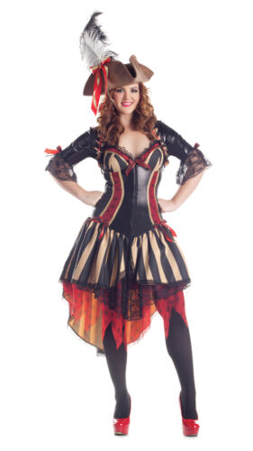 Party King Pirate Body Shaper Plus Size Costume