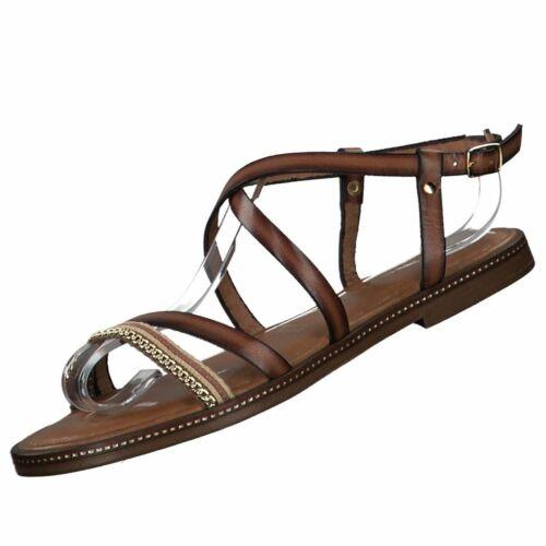 Neu TAMARIS Damenschuhe Ledersandalen Sandalen Damensandalen Riemchen Schuhe