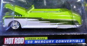 Image Is Loading Racing Champions 50 1950 Mercury Merc Convertible Hot
